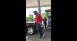 Lil Kids Caught Trying To Beat Up A Old Man At The Gas Station!