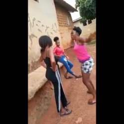 Girl Slaps Another Girl Repeatedly For Talking Sh*t!