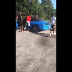 Dude Pulls Off With The Guy That He Was Fighting In His Car!