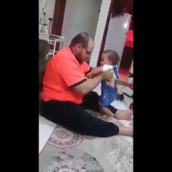 Father Beats His 3 Year Old Daughter Because She Wouldn't Walk!
