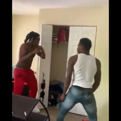 Girl Calls Her Brother To Beat Her Boyfriend Azz While Her Kids Were There For Putting His Hands On Her!