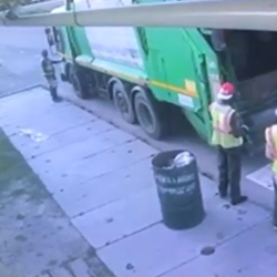 Man Gets Run Over And Killed By A Truck While On His Job!