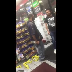 Dude Robs Store And Pulls A Knife On Store Owner For Not Moving Out His Way!