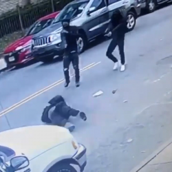 Dude Gets Gunned Down By His Opps!