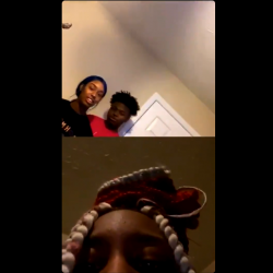 Girl Goes Off After She Seen Her Bestfriend Twerking On Her Ex Boyfriend On Live!