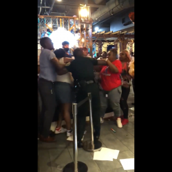 Woman Tries To Fight Employees At A Seafood Restaurant After They Disrespected Her!