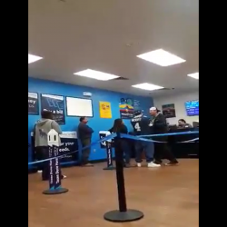 Man Gets His Azz Beat By A Mexican Guy In Walmart Because He Kept Talking Shii!