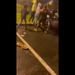 They Let Their Friend Get Jumped Because It Was Too Many People Trying To Fight Her!