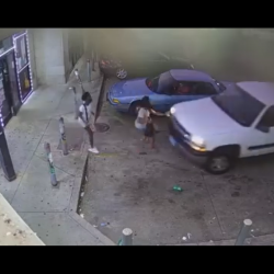 Woman That Was Drinking And Driving Gets Her Azz Beat By The Girl She Ran Over With Her Car!