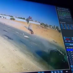 Two Men On Motorcycle Gets Sent In The Sky After Getting Brutally Hit By Car